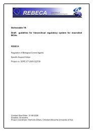 Project logo (optional) Priority logo (or FP6 General ... - REBECA