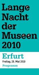 Museum für Thüringer Volkskunde Erfurt