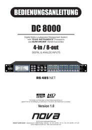 DC 8000.cdr - NOVA by CRAAFT Audio