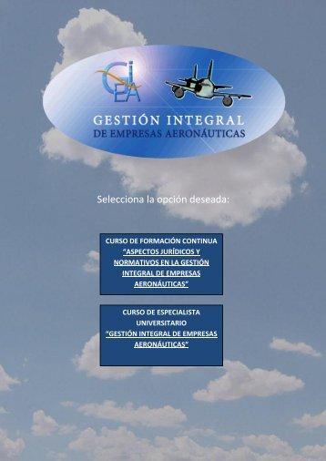 Gestion Integral - ETSIA - Universidad Politécnica de Madrid
