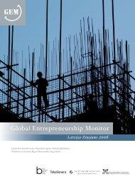 Global Entrepreneurship Monitor - BICEPS