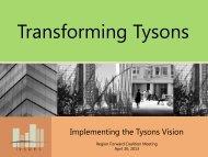 Transforming Tysons