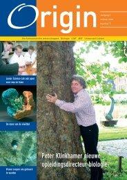 Origin 4.1.indd - Faculteit der Wiskunde en Natuurwetenschappen