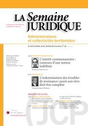 Administrations et collectivités territoriales - LexisNexis