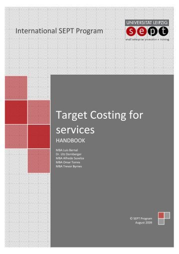 Target Costing for services