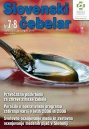 Ovitek_ 07-08_10.indd - Čebelarska zveza Slovenije