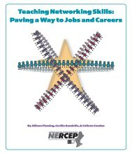 Teaching Networking Skills: Paving a Way to Jobs and Careers