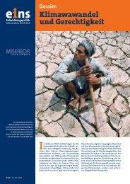 Dossier - Klimawandel & Gerechtigkeit