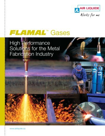 FLAMALTM Gases - BLUESHIELD