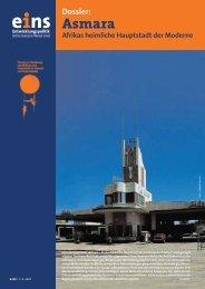 Dossier: Asmara Afrikas heimliche Hauptstadt der ... - Oase Reisen