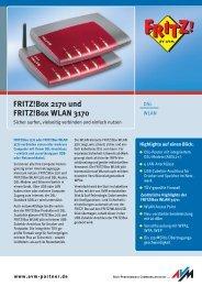 FRITZ!Box 2170 und FRITZ!Box WLAN 3170 - Wolfsteiner-EDV online