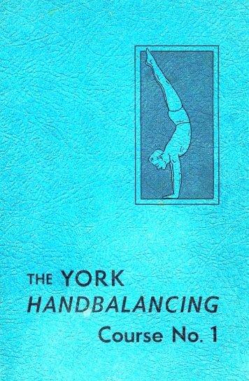 the YORK - HANDBALANCING