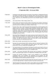Kronologis Kasus Munir - KontraS