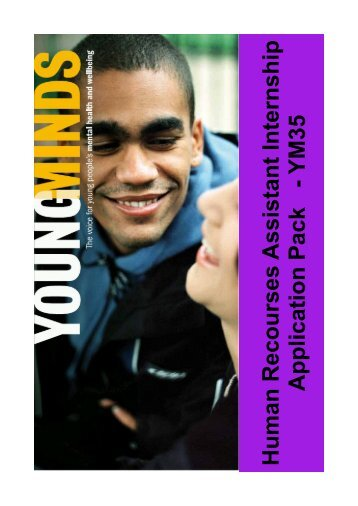 HR Assistant Internship. - YoungMinds