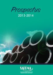 southern african plastic pipe manufacturers association - SAPPMA