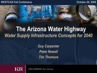 The Arizona Water Highway Water