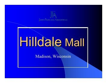 Hilldale Mall