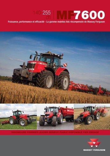 MF 7600 - Jacopin Equipements Agricoles