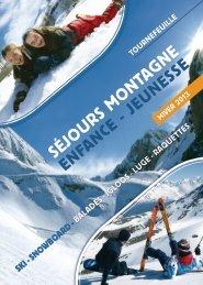 SéjourS montagne - Ville de Tournefeuille