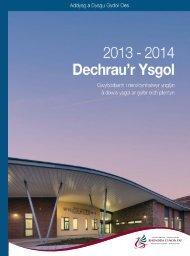 Dechraur Ysgol 2013-2014 - Rhondda Cynon Taf