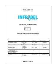 Technische bepaling vergrendeling KT - Infrabel