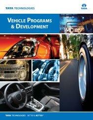 Vehicle Programs & Development - Tata Technologies
