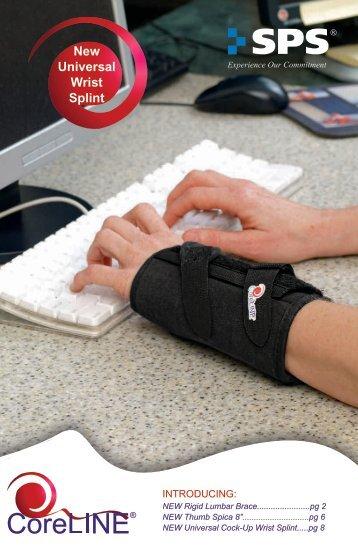 New Universal Wrist Splint - SPS
