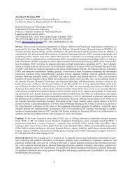 Jonathan P. Dowling, PhD Horace C. Hearne Professor of ...
