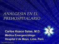 Analgesia en el Prehospitalario - Reeme.arizona.edu