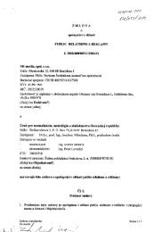 Zmluva o spolupráci v oblasti PUBLIC RELATIONS a ...