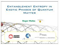 Entanglement Entropy in Exotic Phases of Quantum Matter