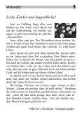 Ministrantenzeitschrift Minililie Nr. 30: Auferstehung der Toten - Page 3