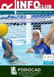 La selecció espanyola femenina de waterpolo juga a ... - CN Rubí
