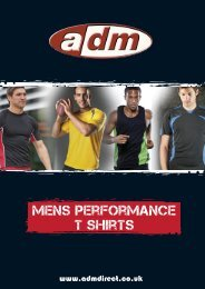 Mens Performance T Shirts PDF