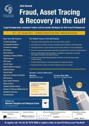 Fraud, Asset Tracing & Recovery in the Gulf - C5