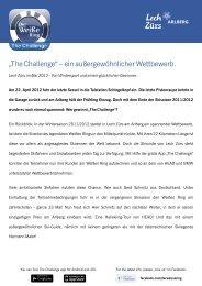 """""""The Challenge"""" – ein außergewöhnlicher ... - Der Weiße Ring"""