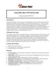 Download datasheet for : Rat ANP ELISA Kit - antibodies Antibodies
