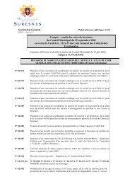 le compte-rendu des votes du 25 septembre 2002 (pdf ... - Suresnes