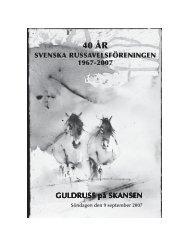 Pdf - Svenska Russavelsföreningen