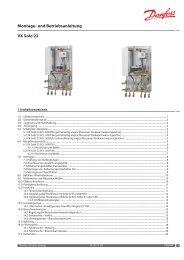 Montage- und Betriebsanleitung VX Solo 22 - Fernwärme ...