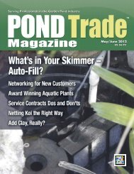 Download the May/June 2012 PDF - Pond Trade Magazine