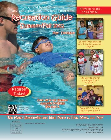 Recreation Guide Recreation Guide - City of Watsonville