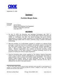 Summary Portfolio Margin Rules - CBOE.com