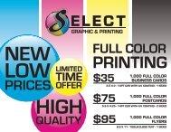 Price List - YellowBot