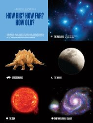 How Big? How Far? How old? - Smithsonian Education