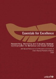 Essentials for excellence main12.indd - Unicef