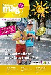 Des animations pour tous tout l'été - Ville de Palaiseau