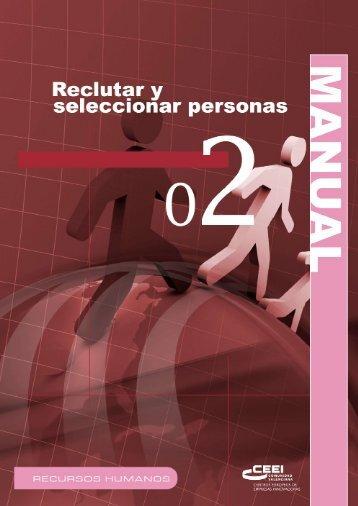 Reclutar y Seleccionar personas.pdf - Comunidad Ilgo 2013