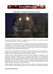 Amityville : la maison de l'horreur en vente - Infos-paranormal.net