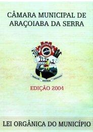 Lei Orgânica do Municipio - Aracoiaba.sp.gov.br